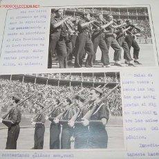 Militaria: ANTIGUO ALBUM CONMEMORATIVO DE LAS ORGANIZACIONES JUVENILES DE MURCIA - 30 DE MAZO DE 1940 - LIBERAC. Lote 33531007