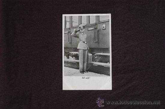 POSTAL CIRCULADA DE UN MIEMBRO DEL EJERCITO DEL TERCER REICH. EPOCA (Militar - Fotografía Militar - II Guerra Mundial)