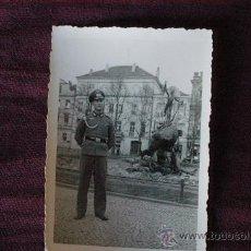 Militaria: FOTOGRAFIA DE UN OFICIAL ALEMAN. TERCER REICH. EPOCA . Lote 26814640