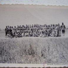 Militaria: FOTOGRAFIA MILITAR DE GRUPO: GUERRA CIVIL, SOLDADOS NACIONALES . Lote 42026138