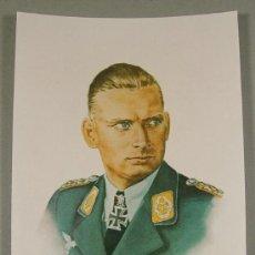 Militaria: HAJO HERMANN FOTO Y FIRMA GANADOR CRUZ DE CABALLERO. Lote 27313294