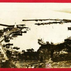 Militaria: FOTO GUERRA CIVIL , MALAGA , PUERTO CON DESTRUCTORES BRITANICOS, 21-7-1936 , F479. Lote 27517383