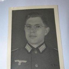 Militaria: FOTO SOLDADO WEHRMACHT.(058). Lote 26930678