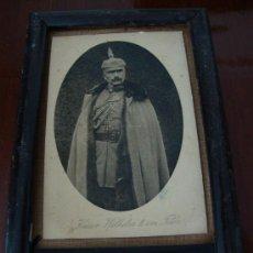 Militaria: MARCO PRUSIANO CON FOTO DEL KAISER GUILLERMO II. Lote 26780180