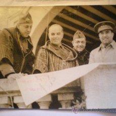 Militaria: FOTOGRAFIA AUTENTICA GUERRA CIVIL - GENERAL VARELA . 16-11-1936. Lote 27537068