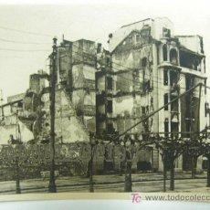 Militaria: BILBAO, ANTIGUA FOTOGRAFÍA ORIGINAL, AÑO 1939, GUERRA CIVIL, EDIFICIOS EN RUINAS.. Lote 25482641