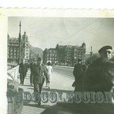 Militaria: SOLDADO LEGION CONDOR GUERRA CIVIL, ANTIGUA FOTO ORIGINAL, 6,X 8,5 CM. SAN SEBASTIAN. Lote 23784192