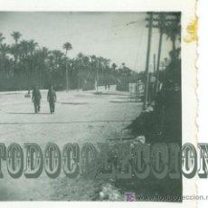 Militaria: SOLDADOS LEGION CONDOR GUERRA CIVIL, ANTIGUA FOTO ORIGINAL, 6,2 X 6,2 CM. ELCHE. Lote 23549591
