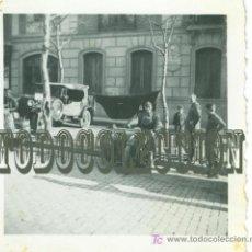 Militaria: SOLDADOS LEGION CONDOR GUERRA CIVIL, ANTIGUA FOTO ORIGINAL, 6,2 X 6,2 CM. MADRID . Lote 26640107
