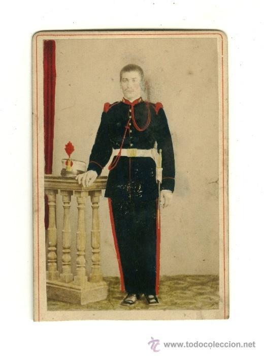 FOTOGRAFIA ORIGINAL DE MILITAR ESPAÑOL - ÉPOCA ALFONSO XIII - ARTILLERIA (Militar - Fotografía Militar - Otros)