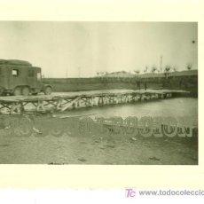 Militaria: PROVINCIA DE HUESCA. FOTO VEHÍCULO DE LA DE LA LEGION CONDOR 8 X 5,5 CM . Lote 23323809