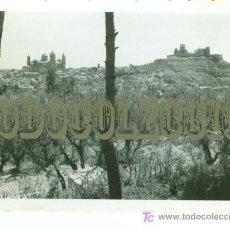 Militaria: ALCAÑIZ, FOTO ORIGINAL TOMADA POR UN MIEMBRO DE LA LEGION CONDOR DURANTE LA GUERRA CIVIL. 10 X 7 CM. Lote 23624148