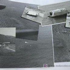 Militaria: FOTOGRAFIAS DE UN EJERCICIO DE SALVAMENTO - EJERCITO DEL AIRE - RIO DE ORO - SAHARA ESPAÑOL 1967. Lote 23253724