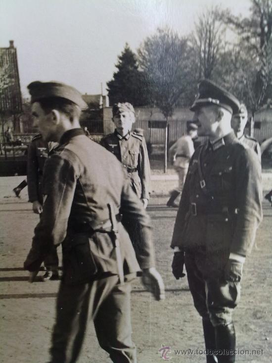 FOTO ORIGINAL ALEMANA-OFICIAL ALEMAN II GUERRA MUNDIAL (Militar - Fotografía Militar - II Guerra Mundial)