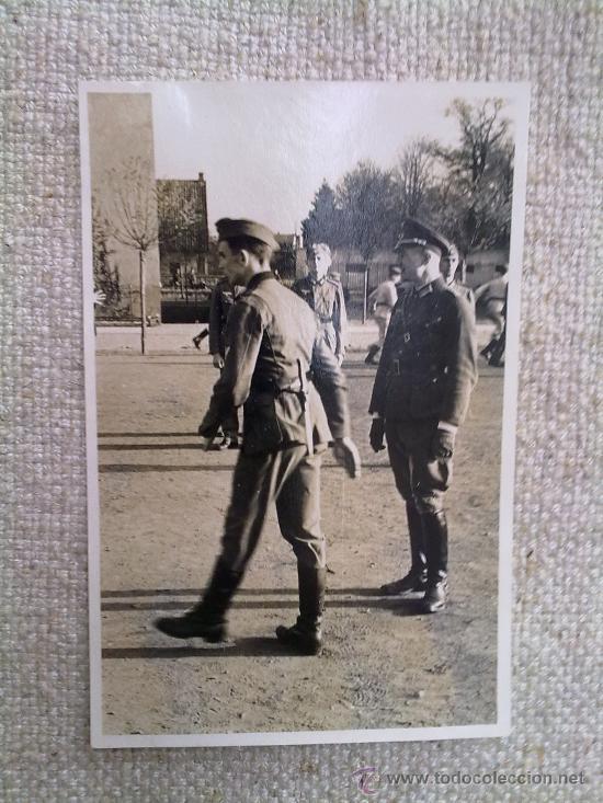 Militaria: FOTO ORIGINAL ALEMANA-OFICIAL ALEMAN II GUERRA MUNDIAL - Foto 2 - 20406538