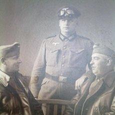 Militaria: FOTO ORIGINAL ALEMANA-SOLDADOS ALEMANES II GUERRA MUNDIAL. Lote 23377696