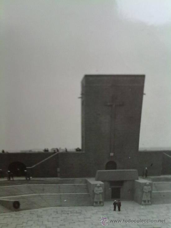FOTO ORIGINAL ALEMANA -MAUSOLEO TANNENBERG (Militar - Fotografía Militar - I Guerra Mundial)