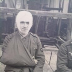 Militaria: FOTO ORIGINAL ALEMANA-SOLDADO ALEMAN HERIDO EN LA II GUERRA MUNDIAL. Lote 22803808