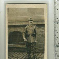 Militaria: FOTO ORIGINAL DE UN SOLDADO ALEMÁN 1ª G.M.. Lote 18358574