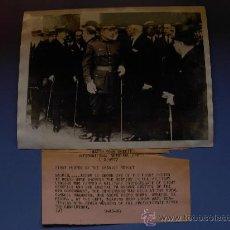 Militaria: FOTOGRAFIA AUTENTICA CAPITAN GENERAL PRIMO DE RIVERA 25-9- AÑO 1923. Lote 21463191