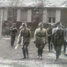 Militaria: FOTO ORIGINAL ALEMANA-HITLER,MUSSOLINI ,KEITEL Y LIST. Lote 26363638
