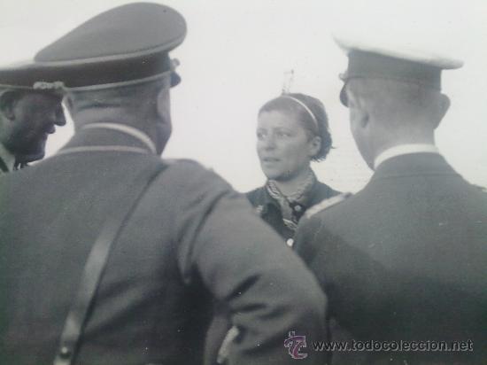 10 FOTOS ORIGINALES ALEMANAS DE LA AVIADORA ELLI BEINHORN EN HANNOVER IIWW (Militar - Fotografía Militar - II Guerra Mundial)