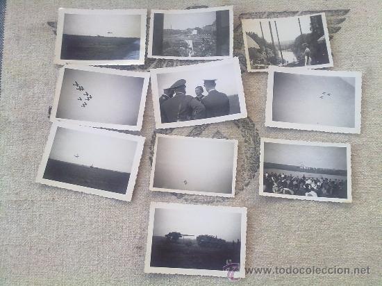 Militaria: 10 FOTOS ORIGINALES ALEMANAS DE LA AVIADORA ELLI BEINHORN EN HANNOVER IIWW - Foto 2 - 26272713