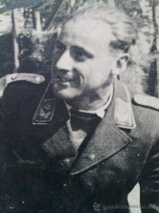 FOTO ORIGINAL ALEMANA PILOTO DE LA LUFTWAFFE,FOTO CON DEDICATORIA (Militar - Fotografía Militar - II Guerra Mundial)