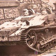 Militaria: CURIOSA IMAGEN DE UN PANZER LEGION CONDOR-DURANTE LA GUERRA CIVIL ESPAÑOLA. Lote 20892048