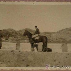 Militaria: ANTIGUA FOTOGRAFIA DE PLENA GUERRA CIVIL - CABALLERIA DEL FRENTE DE TERUEL - 1938 - MIDE 9 X 6 CMS. Lote 17143407