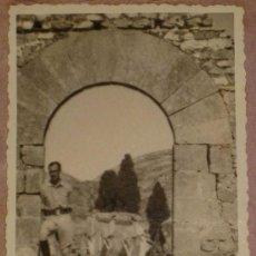 Militaria: ANTIGUA FOTOGRAFIA DE PLENA GUERRA CIVIL - MILITAR EN EL FRENTE DE TERUEL - 1938 - MIDE 9 X 6 CMS. Lote 17143434