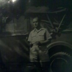 Militaria: FOTO ORIGINAL ALEMANA SOLDADO DEL AFRIKA KORPS DAK. Lote 23327894