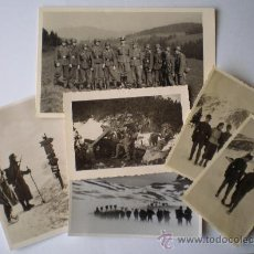 Militaria: FOTO - FOTOGRAFÍAS ORIGINALES GERBISJÄGER (SEGUNDA GUERA MUNDIAL). Lote 26288028