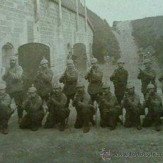 Militaria: FOTO ORIGINAL ALEMANA I GUERRA MUNDIAL SOLDADOS ALEMANES. Lote 27597299