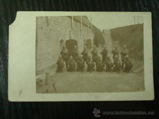 Militaria: FOTO ORIGINAL ALEMANA I GUERRA MUNDIAL SOLDADOS ALEMANES - Foto 2 - 27597299
