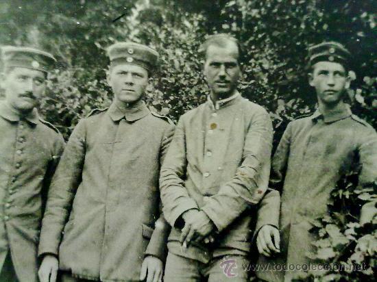 FOTO ORIGINAL ALEMANA I GUERRA MUNDIAL SOLDADOS ALEMANES (Militar - Fotografía Militar - I Guerra Mundial)