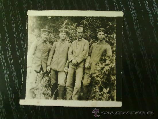 Militaria: FOTO ORIGINAL ALEMANA I GUERRA MUNDIAL SOLDADOS ALEMANES - Foto 2 - 27597289