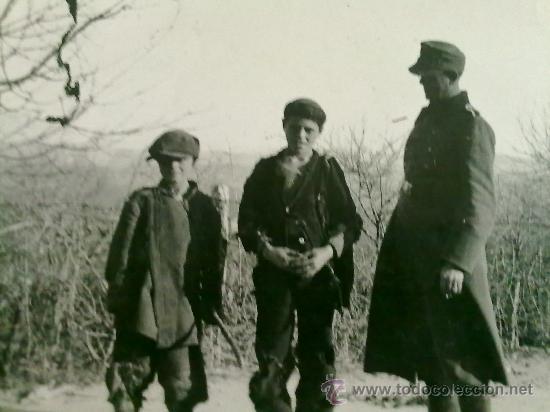 FOTO ORIGINAL ALEMANA PRISINERO DE GUERRA ALEMAN ,CON SELLO EN FOTO (Militar - Fotografía Militar - II Guerra Mundial)