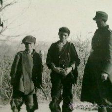 Militaria: FOTO ORIGINAL ALEMANA PRISINERO DE GUERRA ALEMAN ,CON SELLO EN FOTO. Lote 26318569