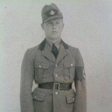 Militaria: FOTO ORIGINAL ALEMANA SOLDADO ALEMAN DE LA RAD. Lote 22183465