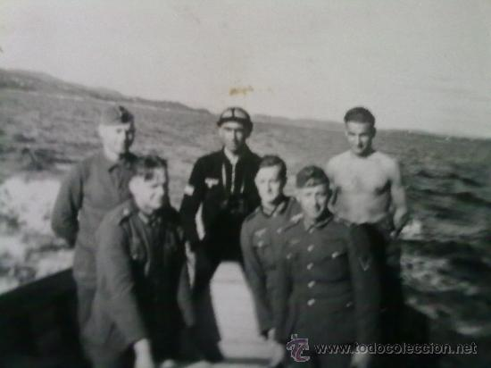RARA FOTO ORIGINAL ALEMANA SUBMARINISTA ALEMAN II GUERRA MUNDIAL (Militar - Fotografía Militar - II Guerra Mundial)