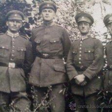 Militaria: FOTO ORIGINAL ALEMANA SOLDADOS ALEMANES. Lote 20504238