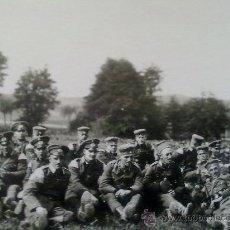 Militaria: FOTO ORIGINAL ALEMANA SOLDADOS ALEMANES DESCANSANDO. Lote 20504241
