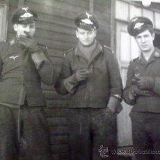 Militaria: FOTO ORIGINAL ALEMANA SUBOFICIALES DE LA LUFTWAFFE. Lote 22581512