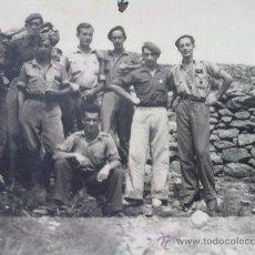 Militaria: FOTO ORIGINAL GUERRA CIVIL ESPAÑOLA,SOLDADOS Y MANDOS NACIONALES. Lote 24189922