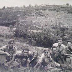 Militaria: FOTO ORIGINAL GUERRA CIVIL ESPAÑOLA COMPONENTES BANDO NACIONAL . Lote 23472648