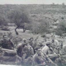 Militaria: FOTO ORIGINAL GUERRA CIVIL ESPAÑOLA SOLDADOS BANDO NACIONAL. Lote 21812764