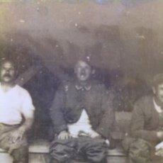 Militaria: FOTO ORIGINAL ALEMANA SOLDADOS ALEMANES HACIENDO SUS NECESIDADES IWW. Lote 26167914