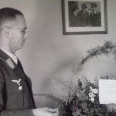Militaria: FOTO ORIGINAL ALEMANA ALTO MANDO LUFTWAFFE . Lote 22803809