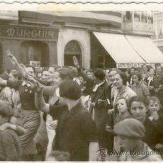 Militaria: (GC-1021)FOTOGRAFIA LEGION CONDOR(9X6 CM.)-GUERRA CIVIL.BILBAO. Lote 18291975